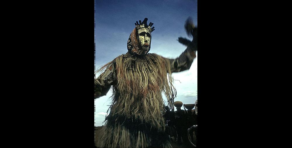 dyoboli dancer cercle de san. 1959. Crédit : E. Elisofon SIRIS