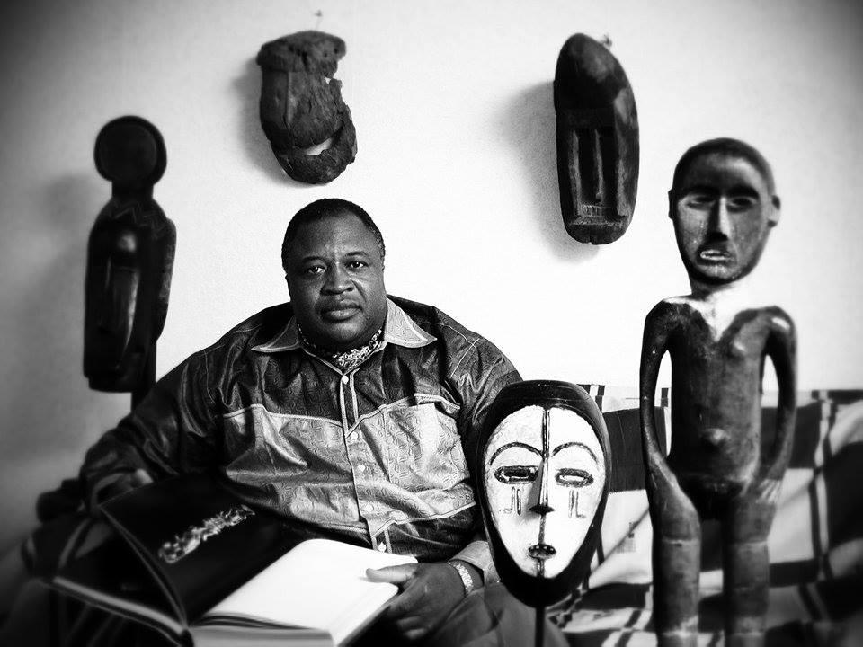 Mamadou Keita, 2002. Copyright Ferry Herrebrugh.