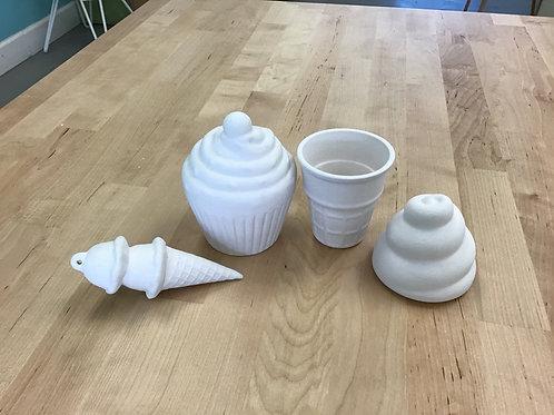 Dessert Themed Ceramics