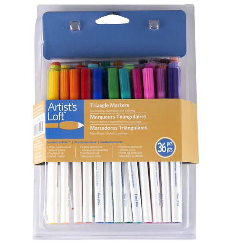 36pc Triangle Marker Set - Pick•Up Only