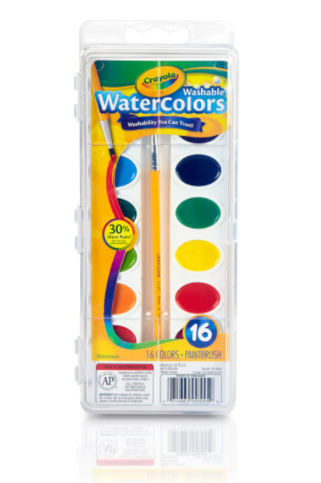 Crayola Watercolor Set - Pick•Up Only