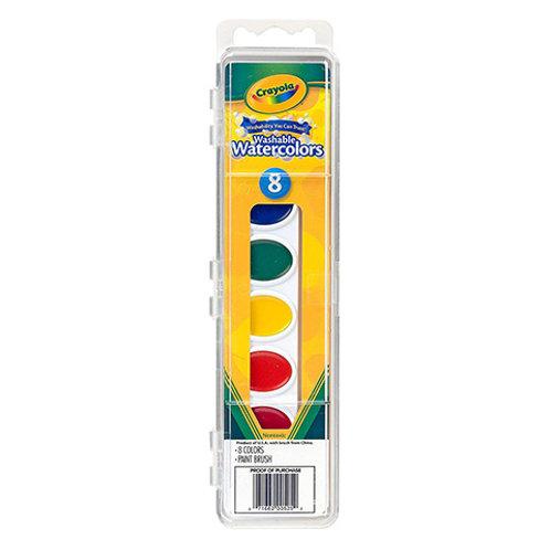 Crayola 8pc Watercolor Set