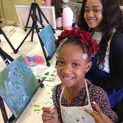 9/12 Summer Seahorse Paint Lesson, 10am-11:30am
