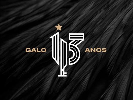 Atlético-MG comemora aniversário sem aglomerações