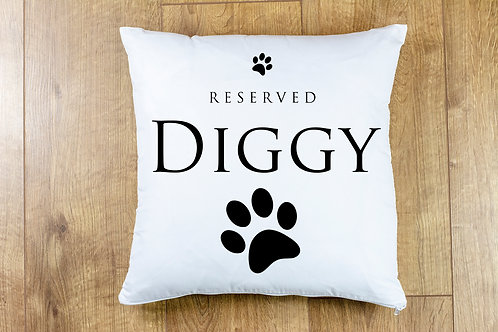 Reserved (NAME) Cushion Cover