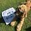Thumbnail: Big bundle-Personalised Towel, cushion cover and slobber chops cloth