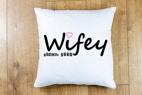 Wifey since. (DATE)