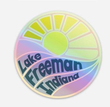 Sticker (Lake Freeman Hologram)