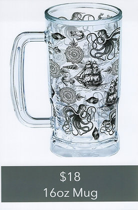 Nautical Mug 16oz