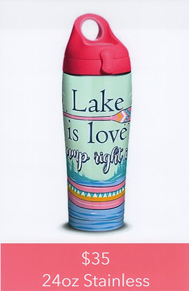 Lake is Love 24oz Stainless