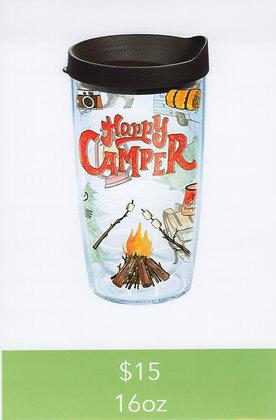 Happy Camper 16oz Tumbler