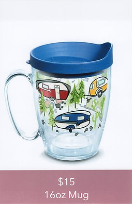 Retro Camper Mug 16oz