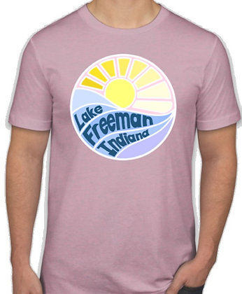 T-Shirt (Heather Prism Lilac)