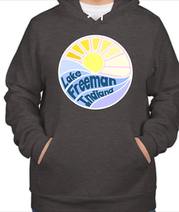 Hoodie Sweatshirt (Dark Heather Grey)