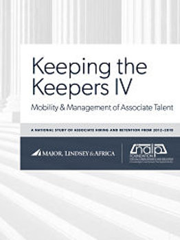 Keeping the Keepers IV: Mobility & Management of Associate Talent