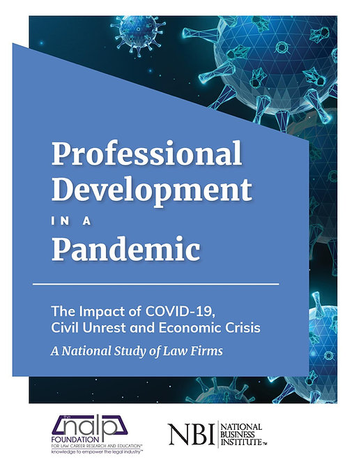 Professional Development in a Pandemic The Impact of COVID-19, Civil Unrest and