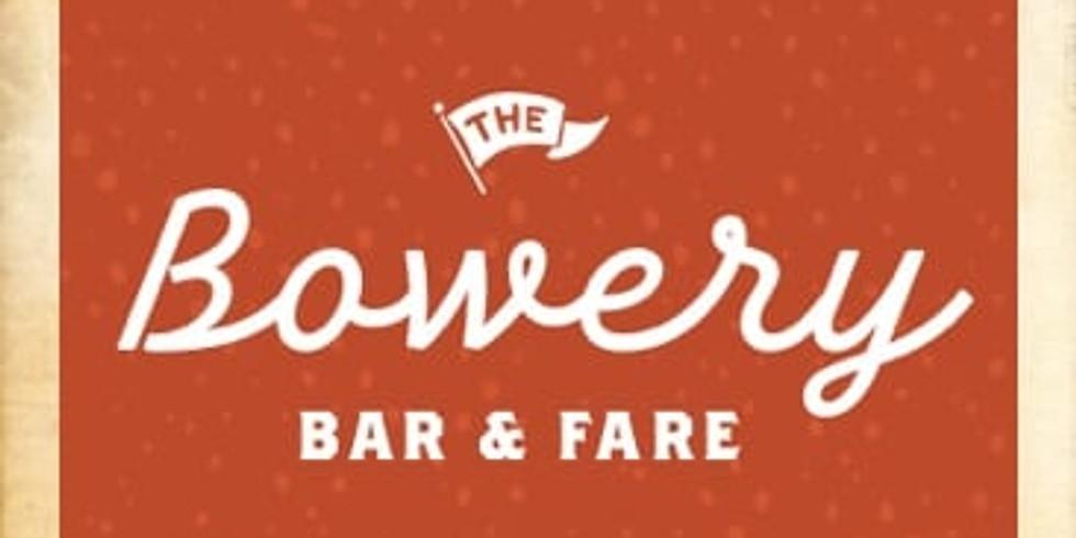 Bowery bar + fare, Long Island (public event)