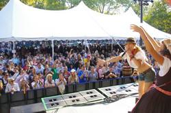 Melina performance Ofest Central Park