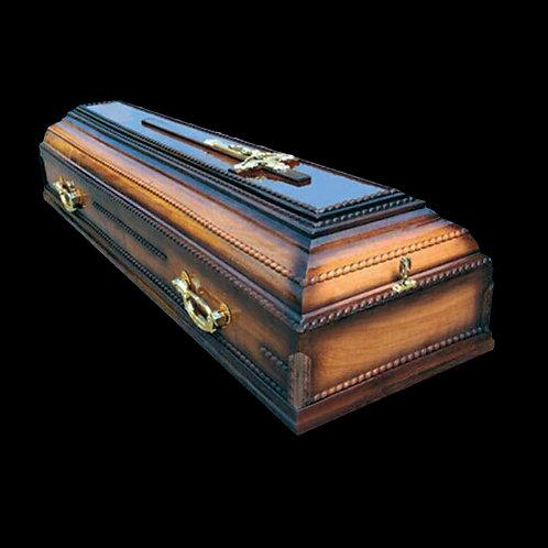 деревянный гроб фото