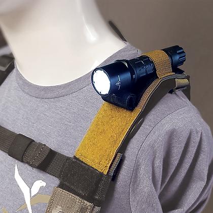 Shoulder Attach Mini Flashlight Leveler