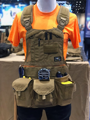 JourneyMESH Chest Rig with Cargo Pockets v2