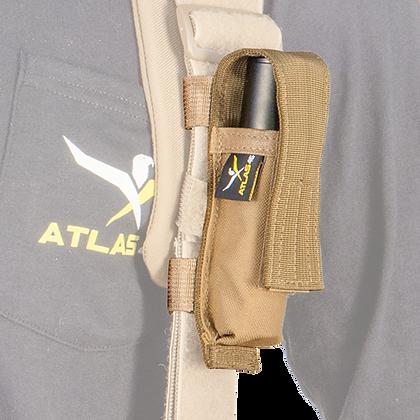 Suspender Attachment Mini Flashlight Pouch