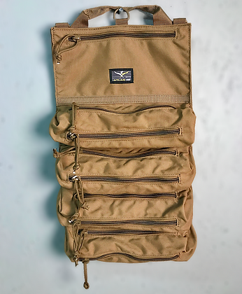 Dual Zip Tool Roll Pouch