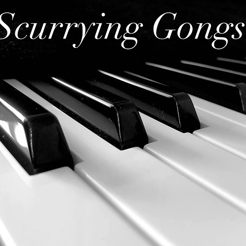 Scurrying Gongs for solo piano