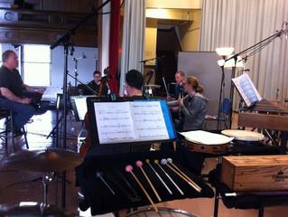 1st recording session
