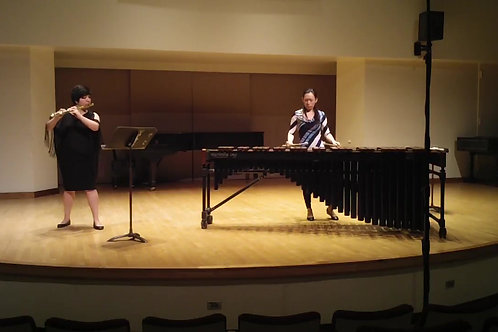 Light of the Moon for flute and marimba