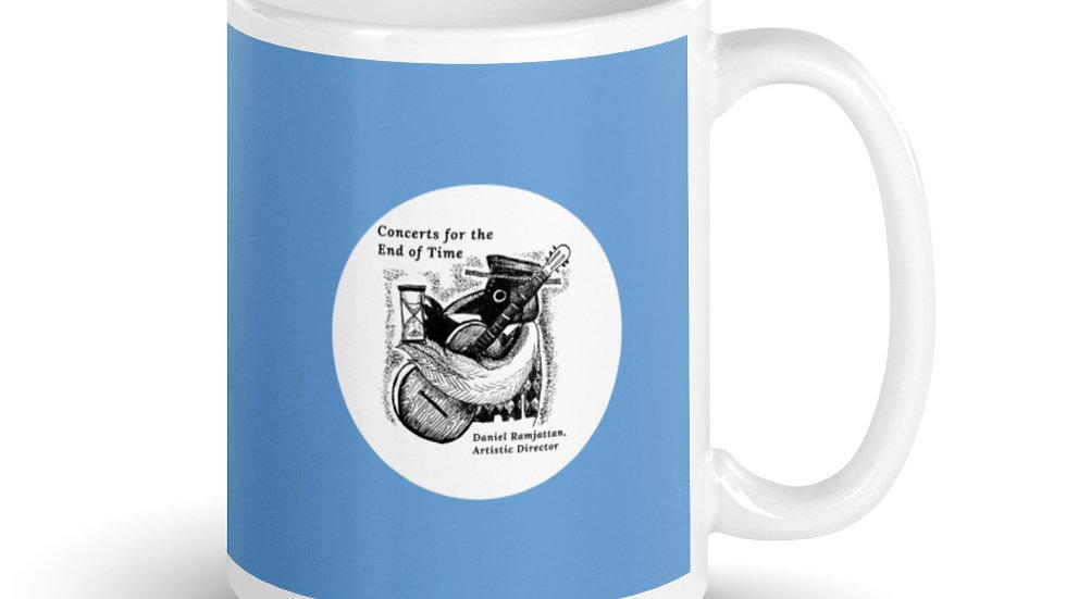 Light Blue C4ET Bird Mug