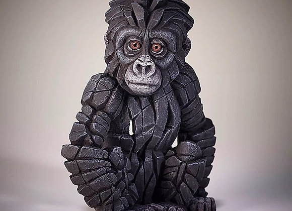 Baby Gorilla - Edge Sculpture