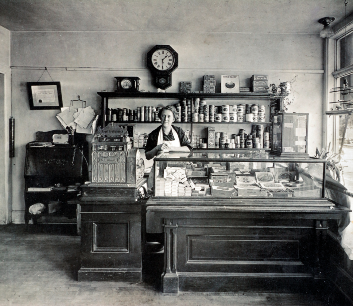 20 - Woman in Store