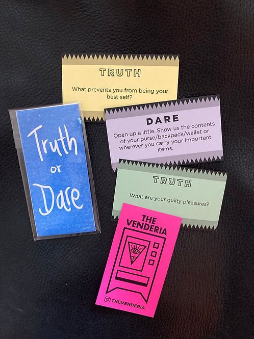 TRUTH OR DARE GAME PACK