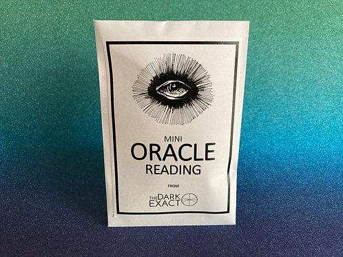 Mini Oracle Reading