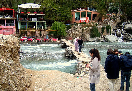 The Beautiful Ourika Valley and Setti Fatma Waterfalls