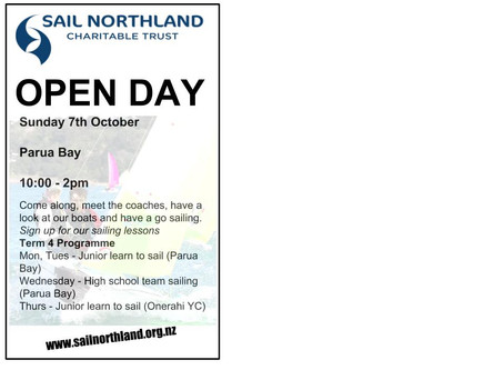 OPEN DAY COMING UP