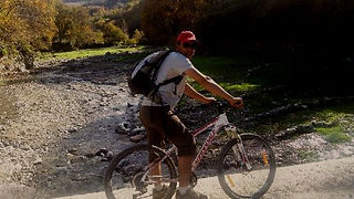 Mountain Biking around the trails of the High Atlas