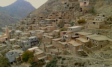 Accommodation in a mountain Berber Village in the High Atlas