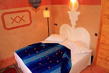 Comfortable double beds at Riad Tourtit Guesthouse,Imlil