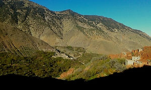 Berber Villages in the High Atlas Mountains and Valleys
