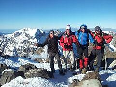 2 days trek to ascend Mount Toubkal