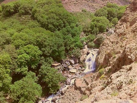 One Day Trek from Imlil to the Tagartoun Waterfalls