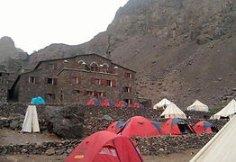 One of the Mountain Refuges in the High Atlas