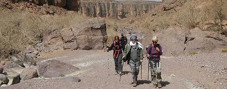 7 Days Atlas and Sahars Trekking