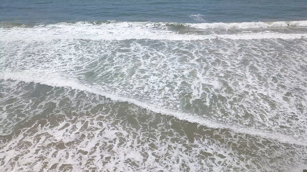 5 of 6 - 4K Drone Stock Footage - Beach - Ungraded