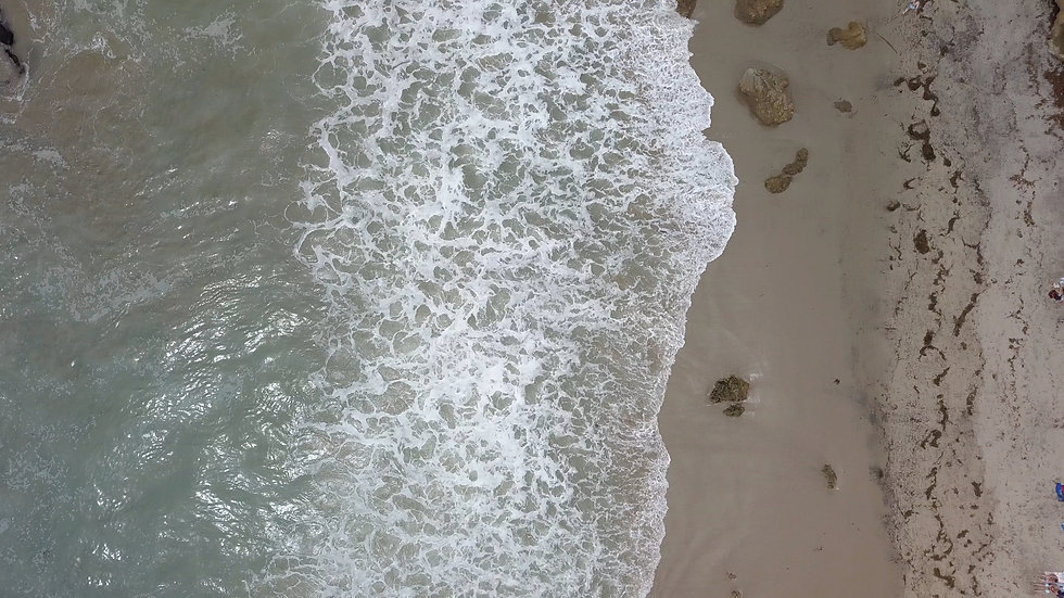 3 of 6 4K Drone Stock Footage - Beach - Ungraded