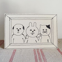3人組ってたまにこんな感じになるよね。_#sennokoto #machinedrawing #machineembroidery #embroidery #embroideryart #instar