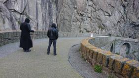 Schöllenenschlucht und Teufelsbrücke   Andermatt