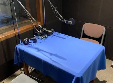 #8 ラジオ収録時の風景。